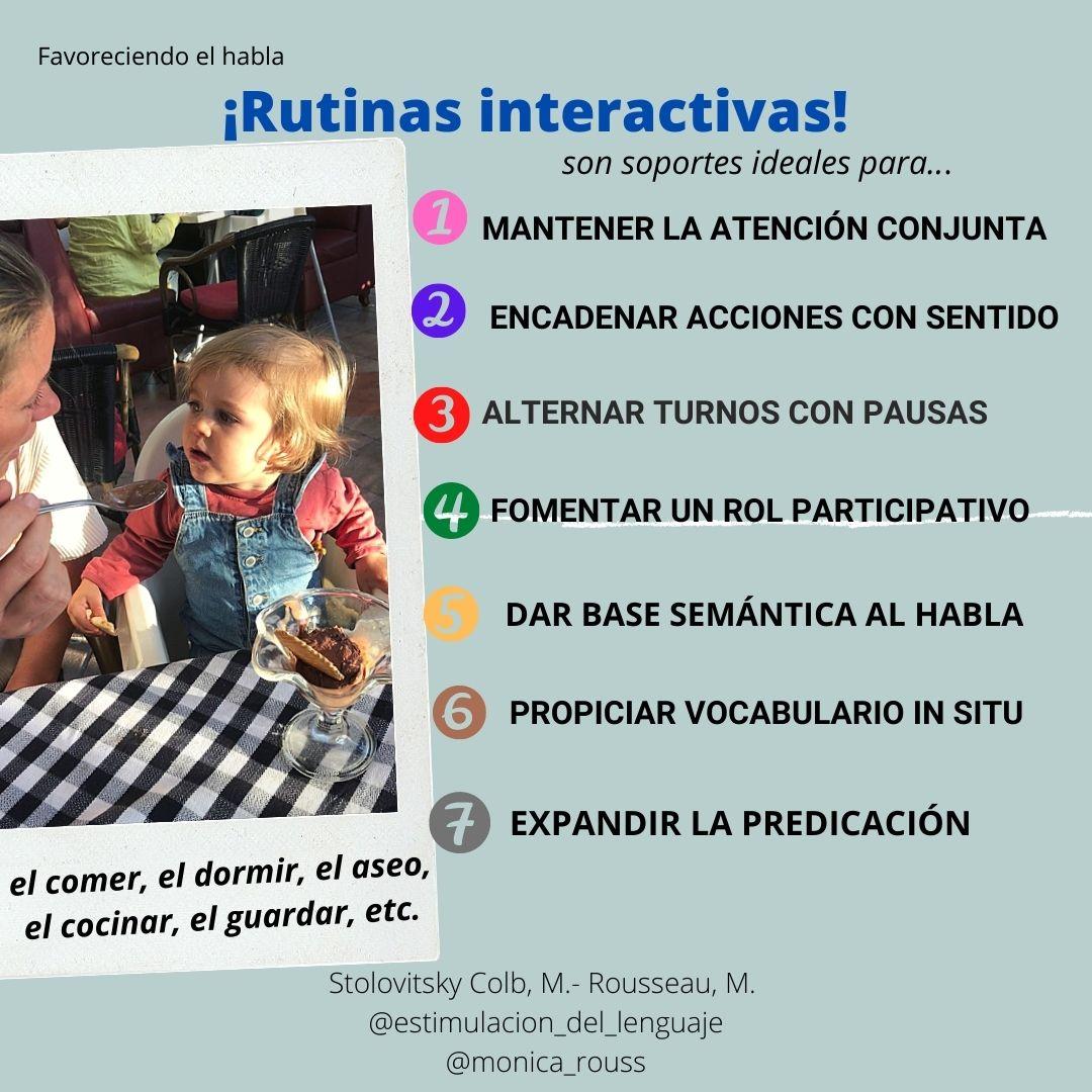 Rutinas interactivas